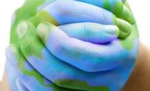 world,hands,planet